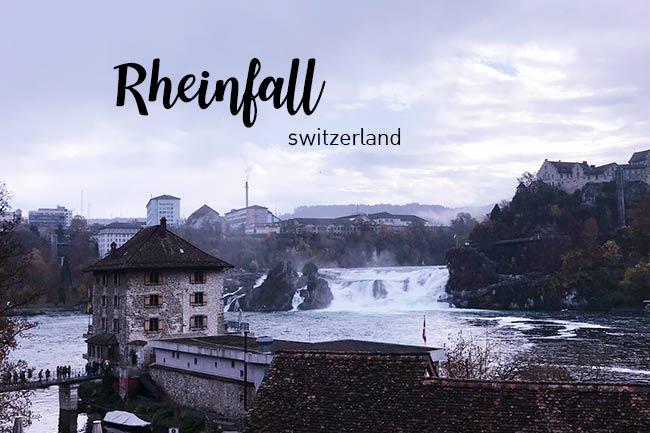 พาไปเที่ยว น้ำตกไรน์(Rheinfall) น้ำตกที่ใหญ่ที่สุดในยุโรป
