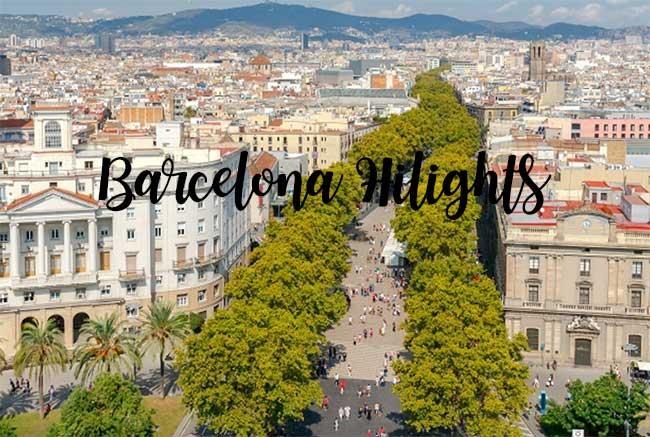 Barcelona Hilights